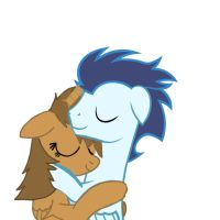 Me and Soarin Snuggling by CartoonAnimes4Ever