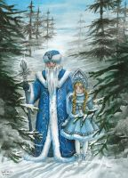 Father Frost by AmedamaCherry