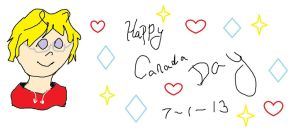 canada day HETALIA! by lisabean