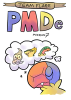 PMD e Mission 7 Cover - Team Flare by Torotix