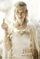 Galadriel, don't be rude! by ElverynelCreations
