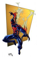 Spider-Man 2099 by spidermanfan2099