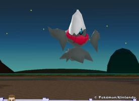 My Darkrai in Pokemon Ranch by lyoko-is-great