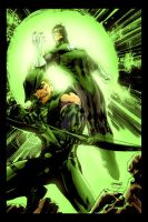 The Green Boys by Jim Lee by StephenSchaffer