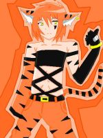 my OC Tiger Streak by ANGELxBIRD