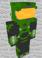 Master Chief Halo 4 Minecraft Skin Preview by THATANIMATEDGUY