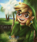 Link and Ciela... (remake) by Amandinde