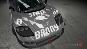 A State Of Brony Saleen S7 by lorokia