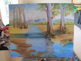 WIP classic landscape by GeorgeLiao