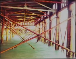 Underneath the pier by rabbit888