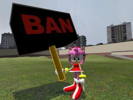 Amy's New Weapon by GlitchyProductions