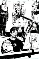 Stark and his Toys by acarabet
