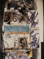 textiles collage by nowhere-plans