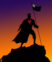 Man of steel by leseraphin