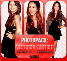 Photopack png 002. Victoria Justice by Manuuselena
