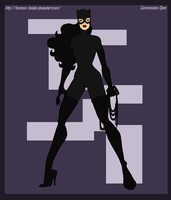 Commission - Catwoman by Femmes-Fatales