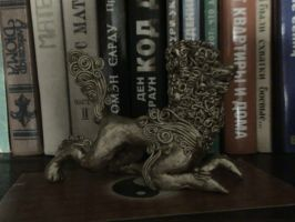 Chinese lion _ by AlfaLunar