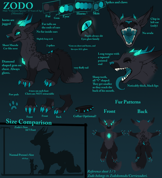 Zodo feral reference. by icat