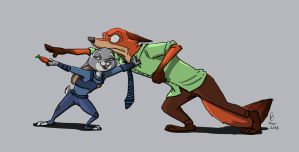 Zootopia by Dravening