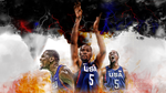 Kevin Durant In The Olympics Final... ON FIRE by Basketfreak13