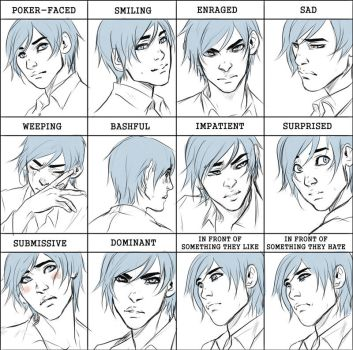 Comm: Orphee expression meme by Noiry