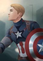 CAPTAIN AMERICA by AlbieReo