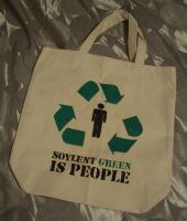 Soylent Green tote by estranged-illusions