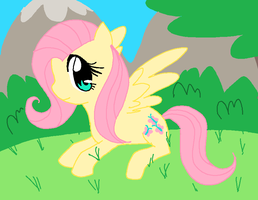 Fluttershy by silvazelover2