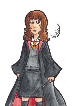The Brightest Witch by batteryfish