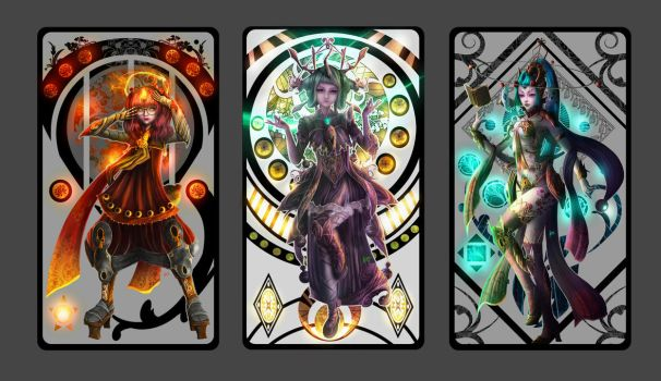 Tarot Collection by RocketPancake