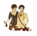 Ye Olde Padfoot and Prongs by Avender
