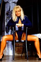 Blonde Glamour girlie 1990 by Londonglamourtog