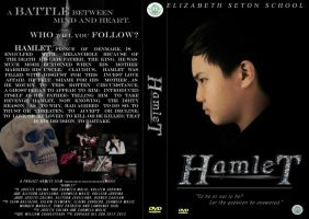 Hamlet DVD cover (3rd Year Project in English) by MoochieOtaku