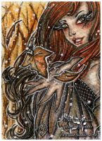 ACEO :: Magical Autumn by Fanhir