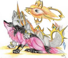 meteor and takaro by Suenta-DeathGod