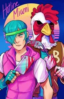 Hotline Miami by KaiTexel