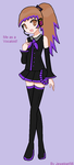 Me as a Vocaloid! by Jewelpet56