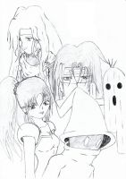 Little Final Fantasy Group by SilentShadow1991