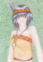 Indian Girl by Refielle
