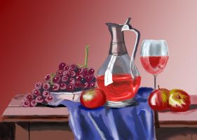 Completed Still Life2 Sjwolff by wolffy79