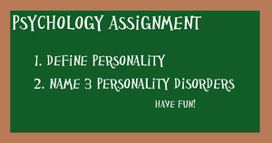 PI Psychology Assignment 2 by kast43