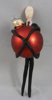 Slender Man Ornament by Tanadrine-Studios