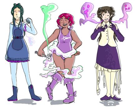 Magical Girls by Hicebirpis
