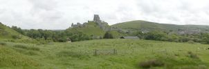 Corfe Castle 4 by asm495