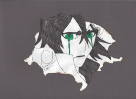 Burnt Ulquiorra by Yougotink