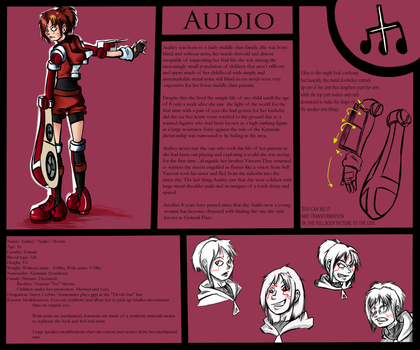 Audio Character sheet by Darkflame411