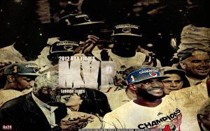 Lebron James- 2012 NBA Finals MVP by pllay1