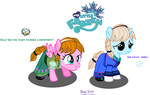 Filly Princess Anna and Filly Queen Elsa by MeganLovesAngryBirds