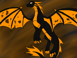 Hallowreen the dragoness of Halloween by ShardianofWhiteFire