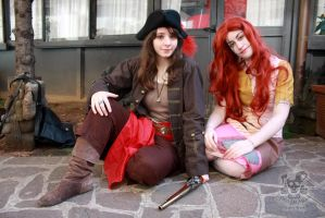 Pirate and Sally by MiracoliCosplay